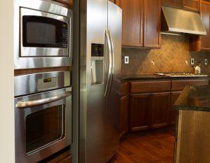 Clean Stainless Steel Refrigerators