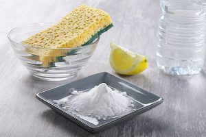 remove odor with baking soda