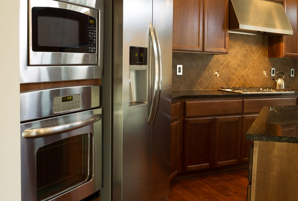 How To Clean Stainless Steel Refrigerators | Gold Star Maids